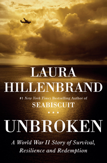 Book jacket for Laura Hillenbrand's Unbroken