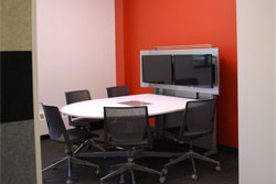 Photograph of media:scape FORUM room